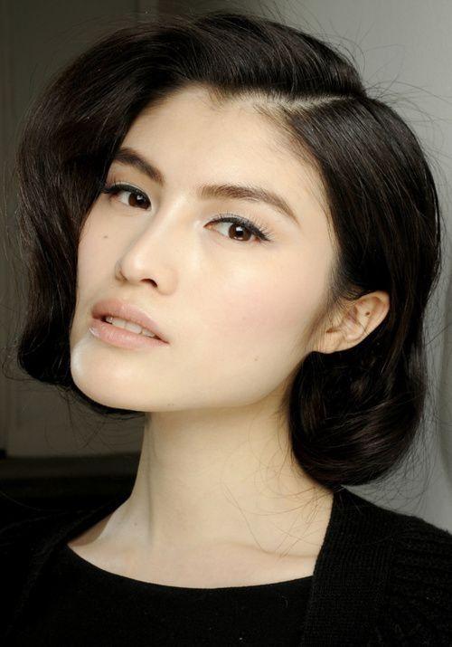 Natural Makeup Asian Women Asian Monolid Eyes Hair