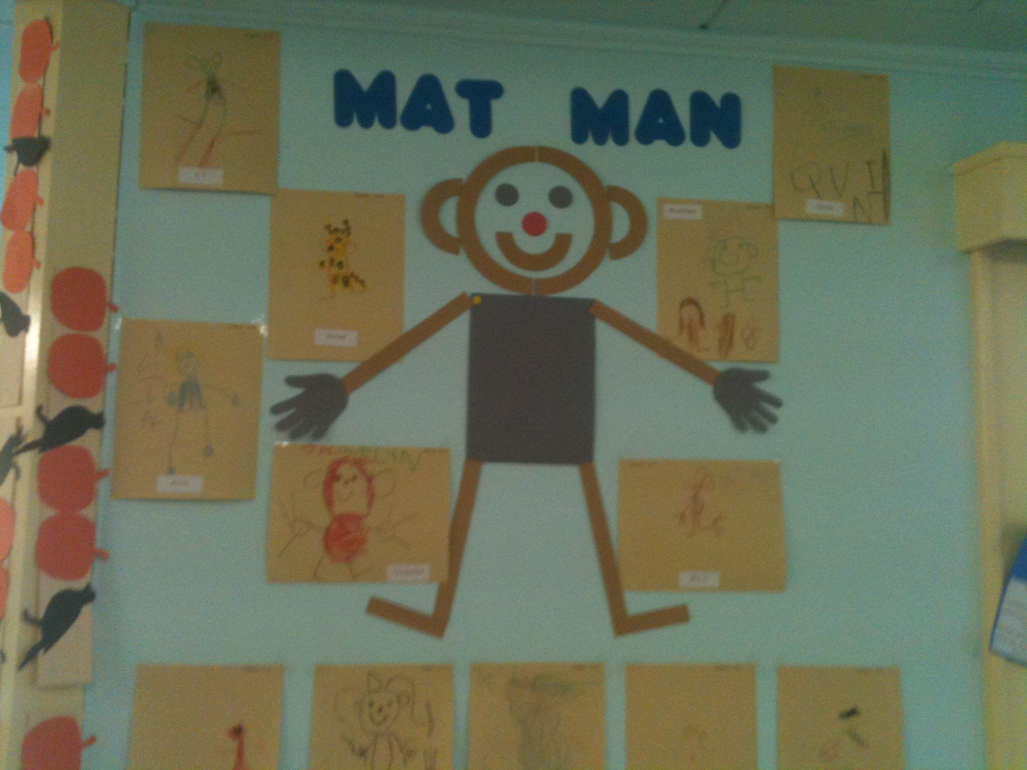 Mat Man Handwriting Without Tears Bulletin Board