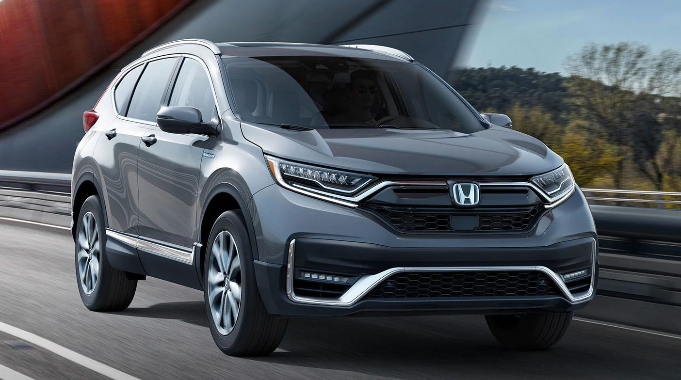 The 2020 Honda Cr V Hybrid Has Joined The Rest Of The Cr V Lineup In Earning A Top Safety Pick Rating From The Insurance In Honda Crv Honda Crv Hybrid Honda Cr