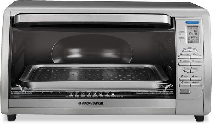 Black Decker Countertop Convection Toaster Oven Countertop