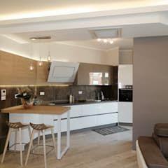 La cucina aperta sul living. nicarch cucina moderna ...
