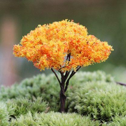 Jard n decoraci n artificial rboles altos 6 cm plantas en for Arboles altos para jardin
