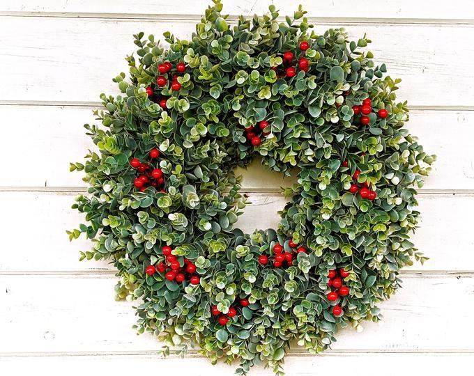 Photo of Santa Wreath Santa Claus Wreath light up christmas wreath Santa C