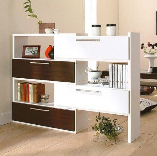 Separador de espacios y mueble para guardar cosas   estanterias ...