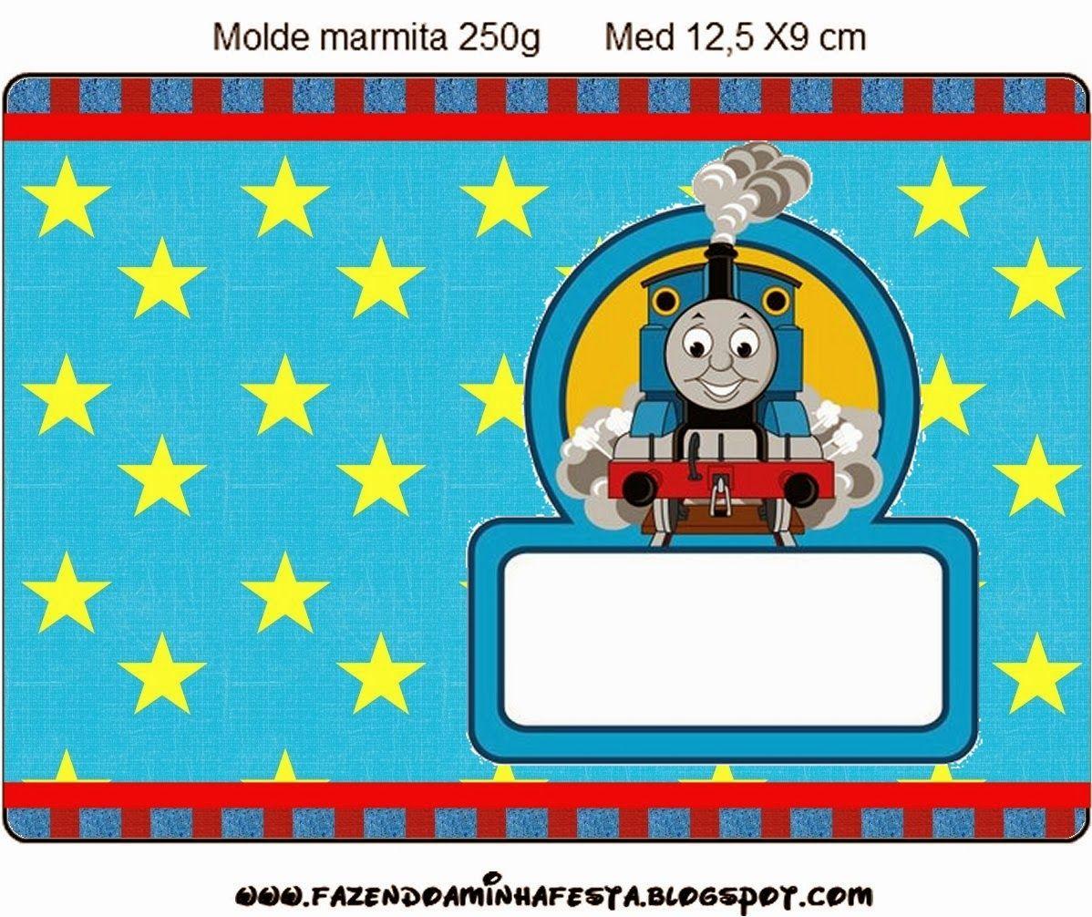 Thomás el Tren: Etiquetas para Imprimir Gratis.   FERNANDO EMMANUEL ...