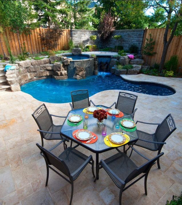 Yessss Small Backyard Design Small Backyard Pools Backyard