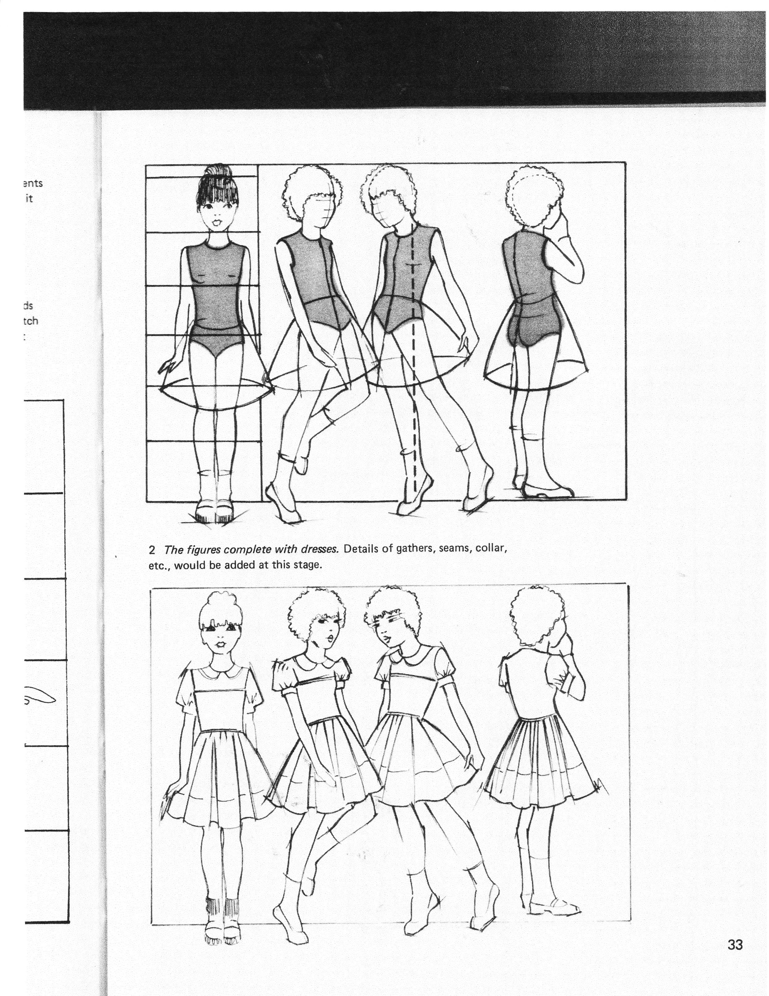 Vintage Kids Fashion Design Book Desenho De Moda Desenhos De Moda Moda Infantil