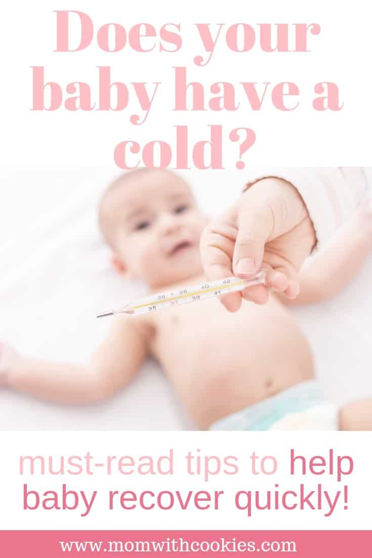 baby have a cold what to do