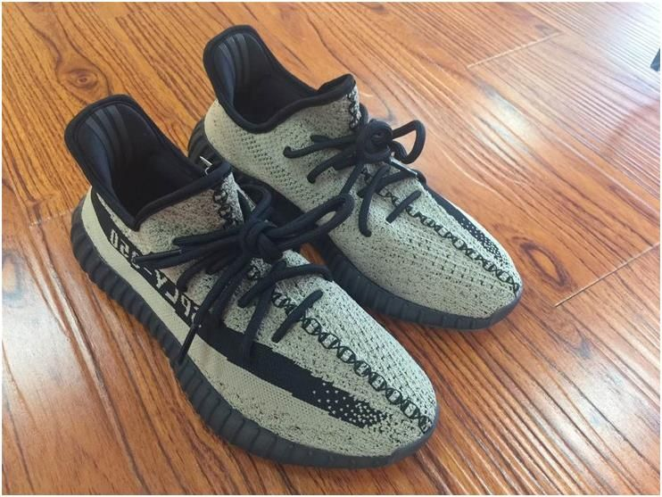 d6cece2cd67 Authentic Yeezy 350 V2 Olive Green4