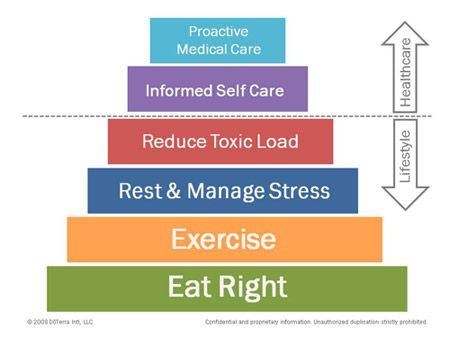 Image result for doterra wellness pyramid