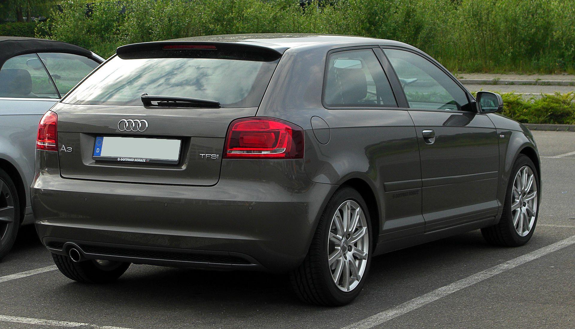 Audi A3 1.2 TFSI Ambition Sline (8P, 3. Facelift