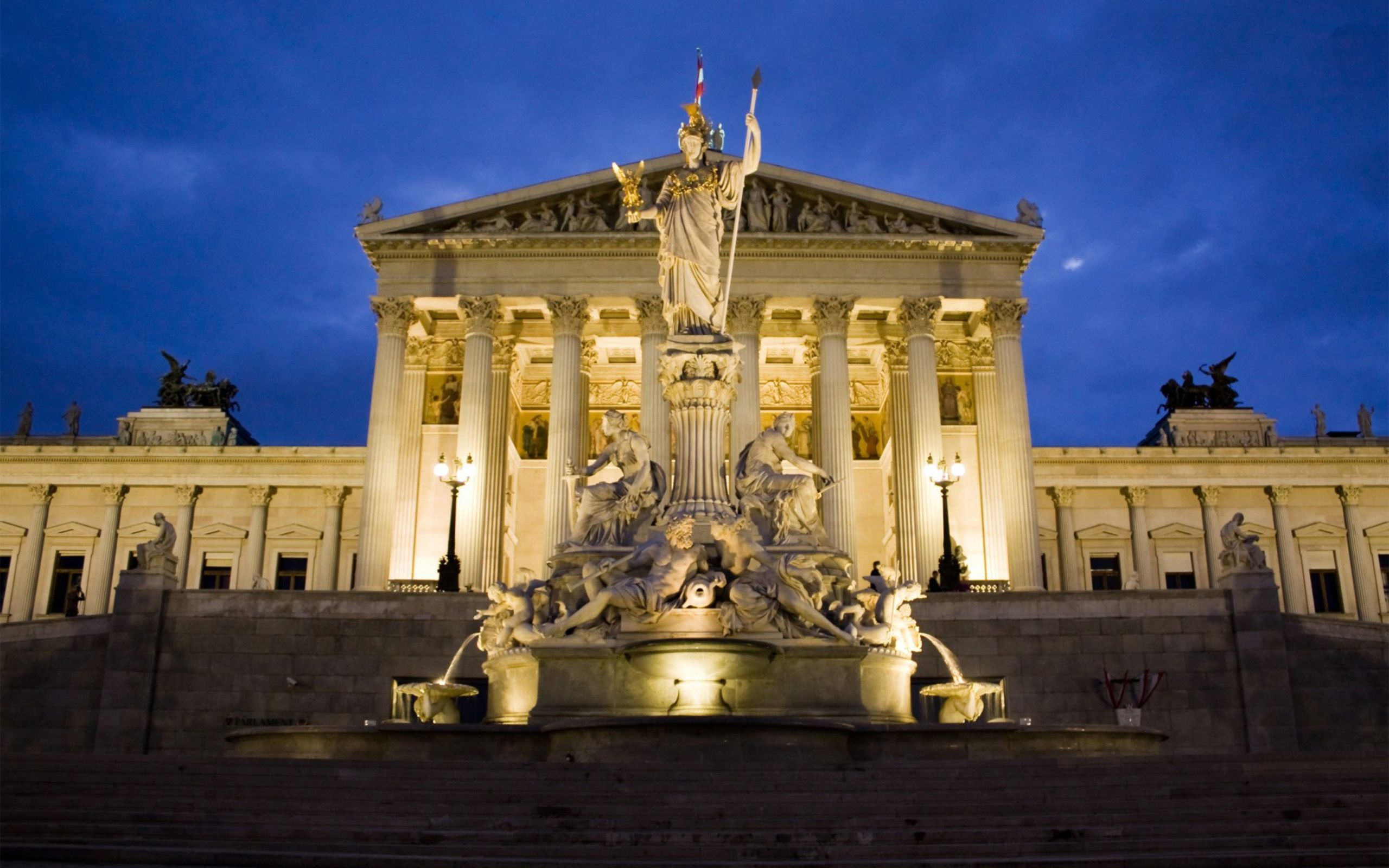 austrian parliament building architecture city jpg 2560 1600