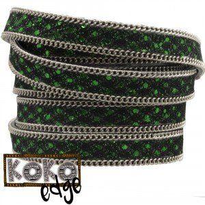 Prachtige Koko Edge Leer +- 1m voor maar 3,75 euro. Hier kun je ongeveer 4 koko armbanden uithalen!