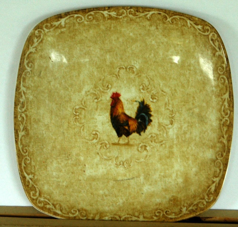 Rooster Plates Wall Decor - Home Decorating Ideas