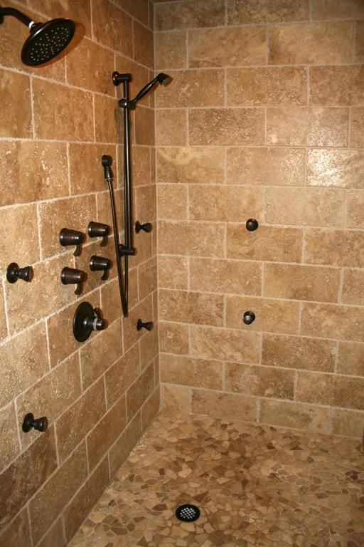 Perfect Shower+pan+tile+idea | The Schluter Shower System, A Complete