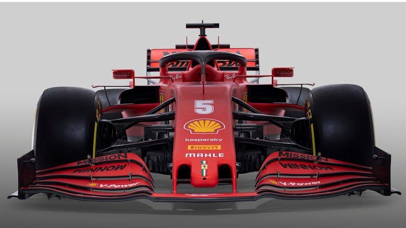 Ferrari F1 Team Shows Off Its New Sf1000 Car With Operatic Flair In 2020 Ferrari Ferrari F1 Car
