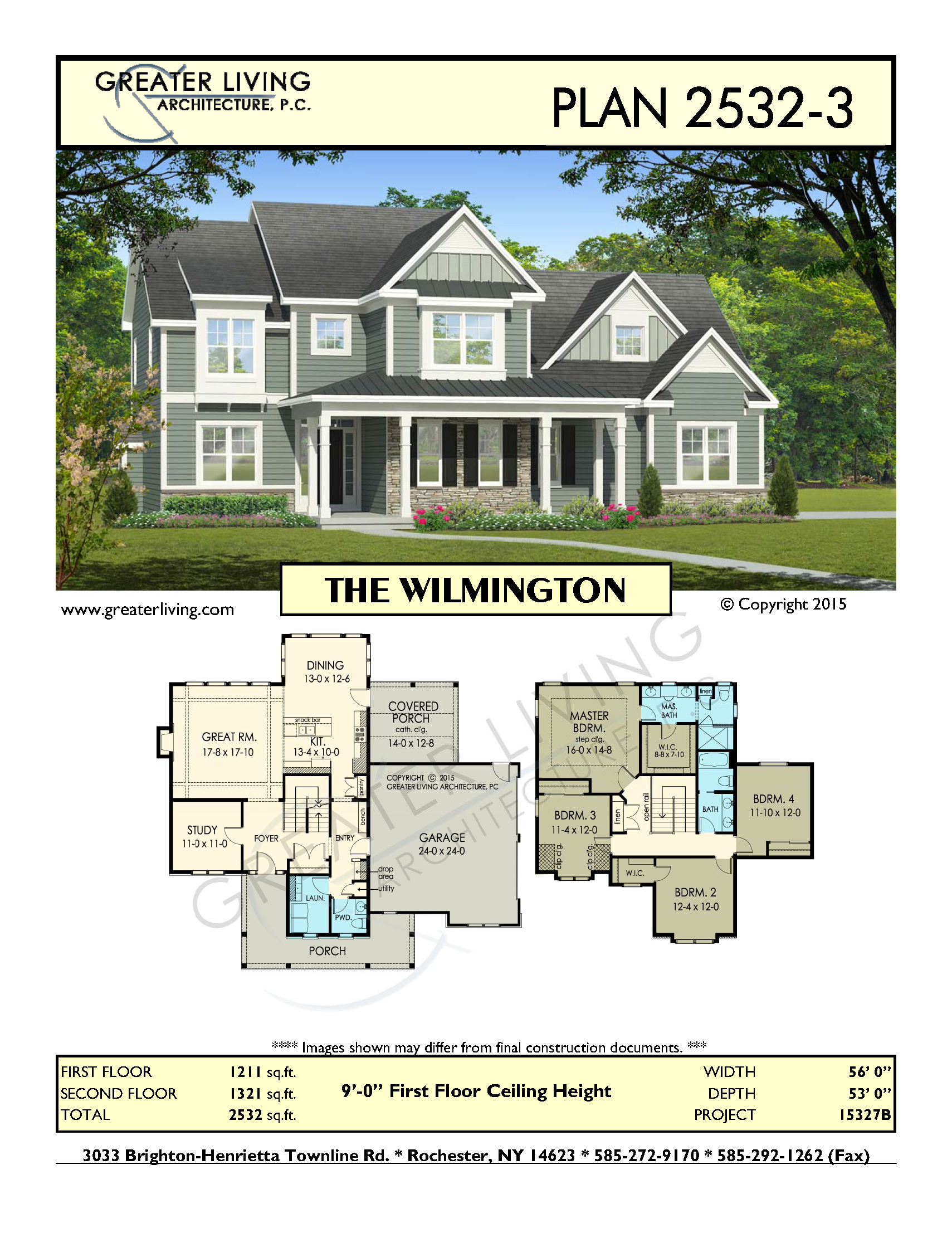 Greater Living Architecture Two Story House Plans House Plans House Blueprints
