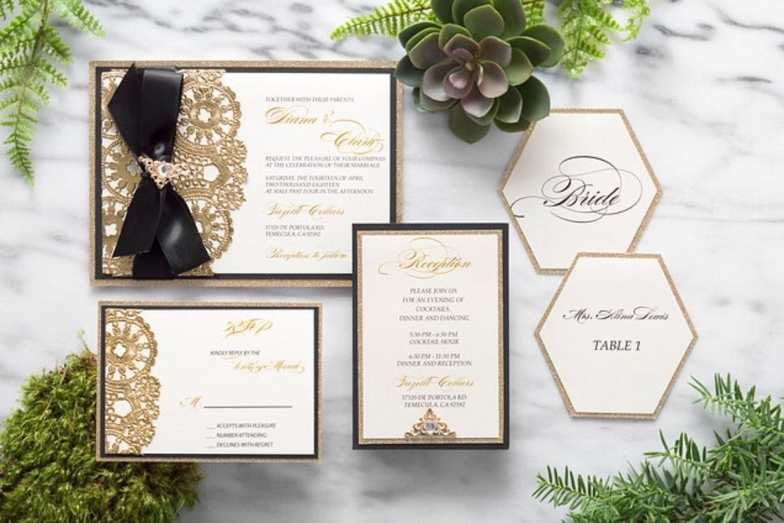 Elegant wedding invitations #weddinginvitation | Invitations ...