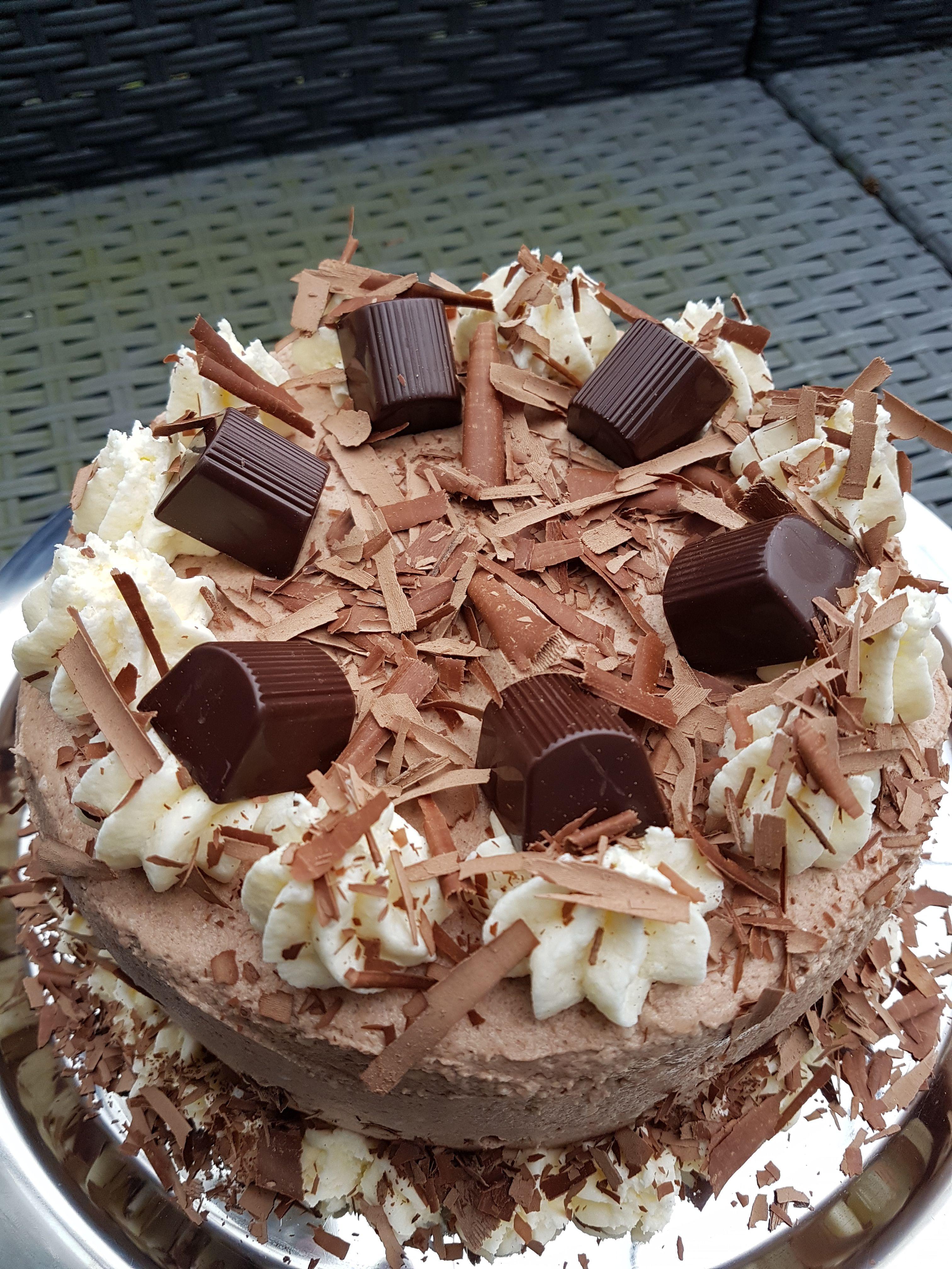 Mon Cheri Torte Zum Knutschen Rezepte Torten Kuchen Pinterest