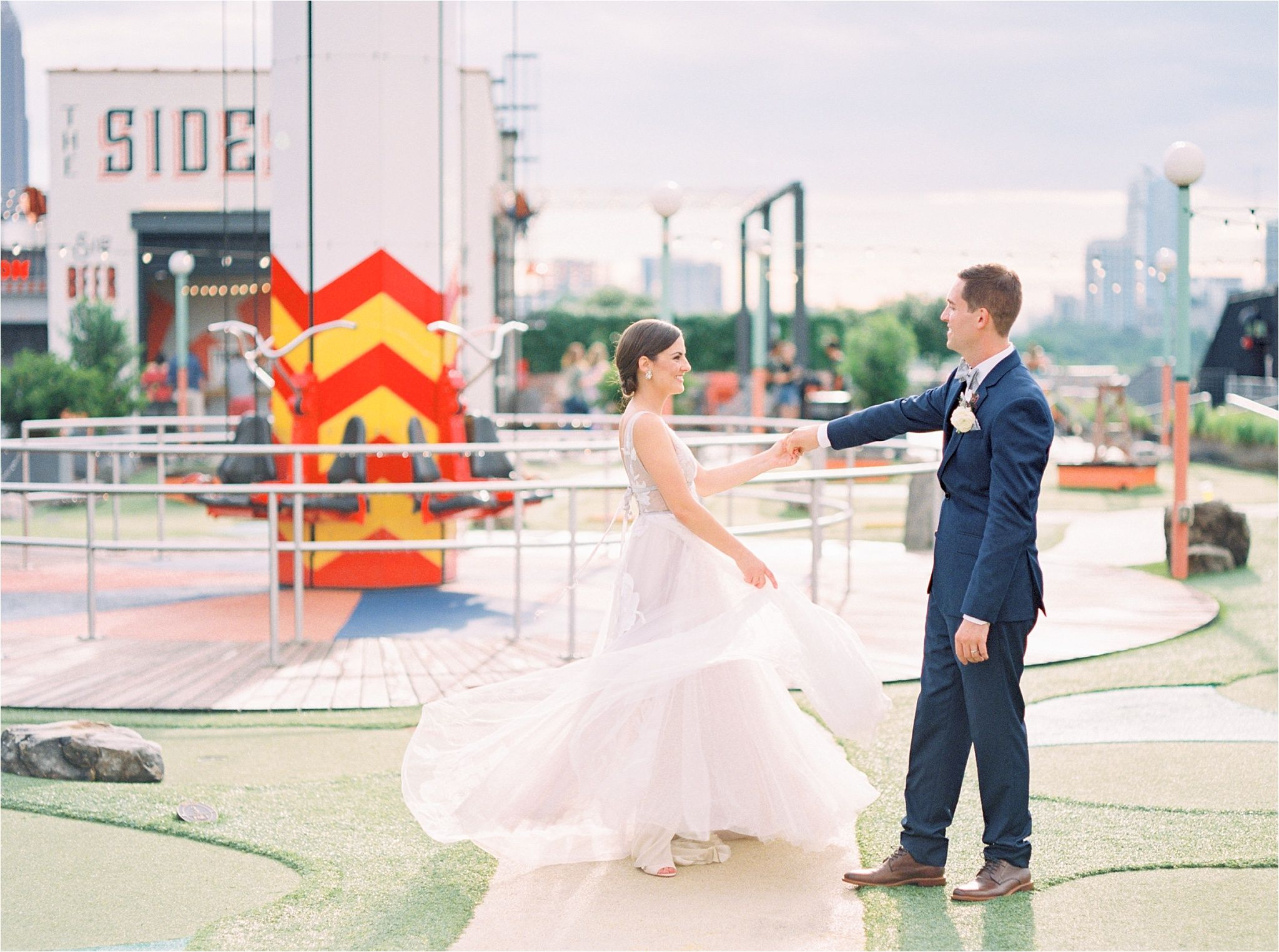 Mr And Mrs Gravel Wedding Marketing Rooftop Wedding Ponce