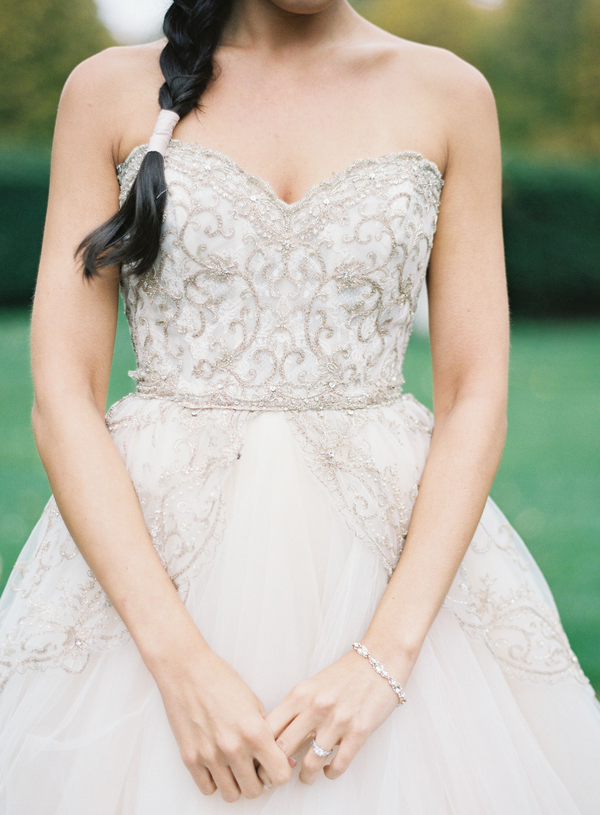 The 35 Most Beautiful Bedazzled Wedding Dresses | All Things to do ...