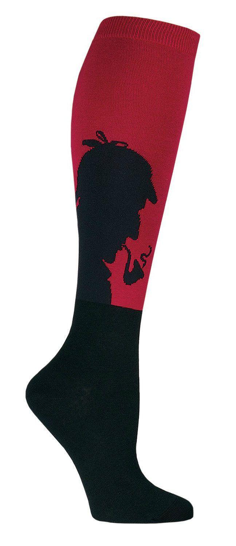 Sherlock Colorful Novelty Knee High Socks for Women