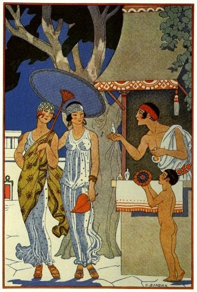 Ancient Greece - The Romance of Perfume by Richard Le Gallienne, 1928