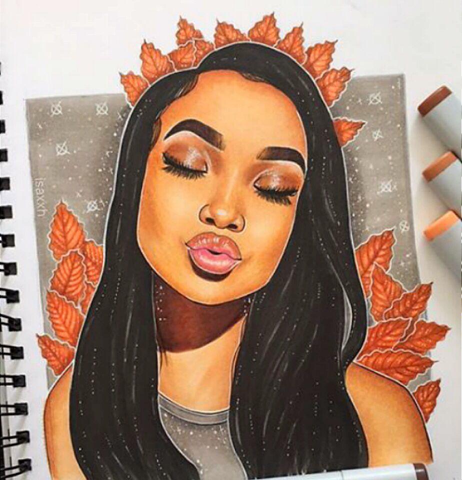 Instagram ti nyyyy art girl black girl art black women art