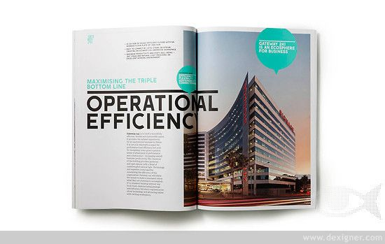 Frost Creates A Gateway For Success Brochure Design Book Design Magazine Design