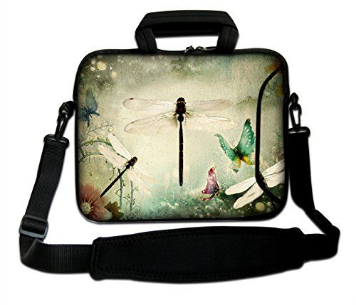 "Laptop Messenger Shoulder Bag Carry Case For 13.3/"" 15.6/"" 17.3/"" HP Dell Macbook"