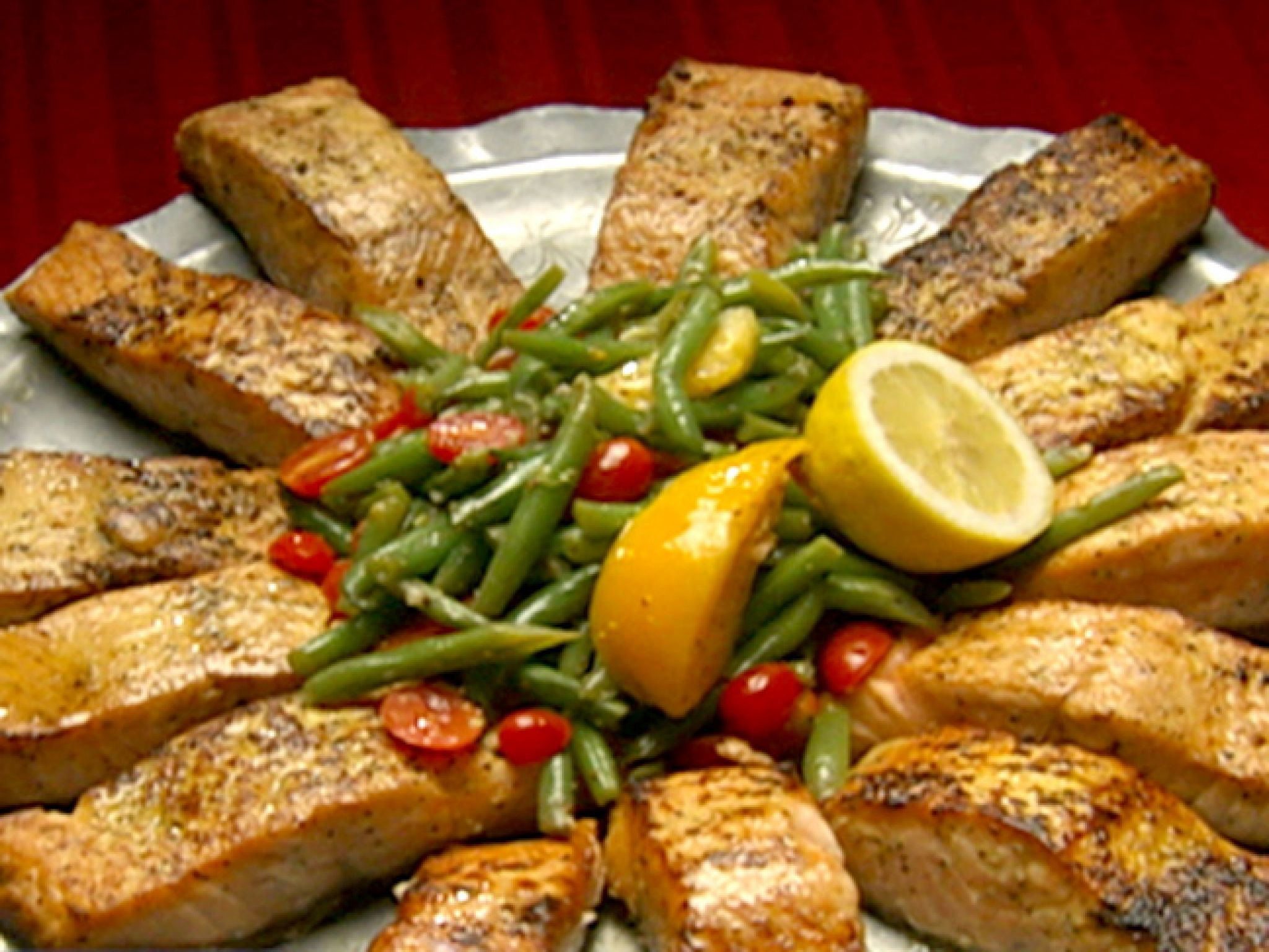 Pan seared salmon with haricots verts salad recipe salmon pan seared salmon with haricots verts salad meal recipesrecipes dinnersalad forumfinder Gallery