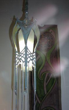 Elven Lantern Gothic Furniture Elvish