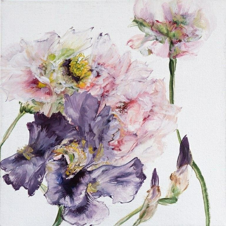 Epingle Par Fabienne Beyer Sur Fleurs Peintre Des Fleurs En