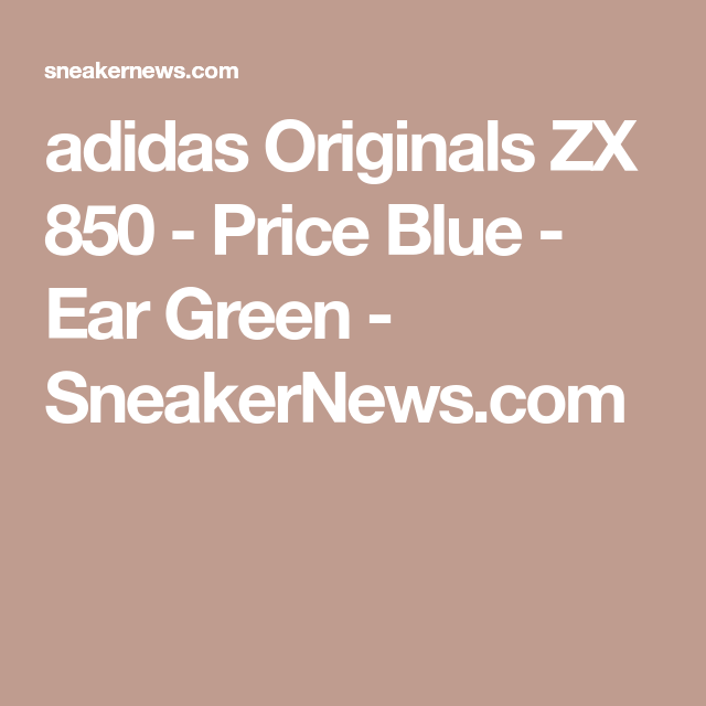 zx 850 adidas verdi
