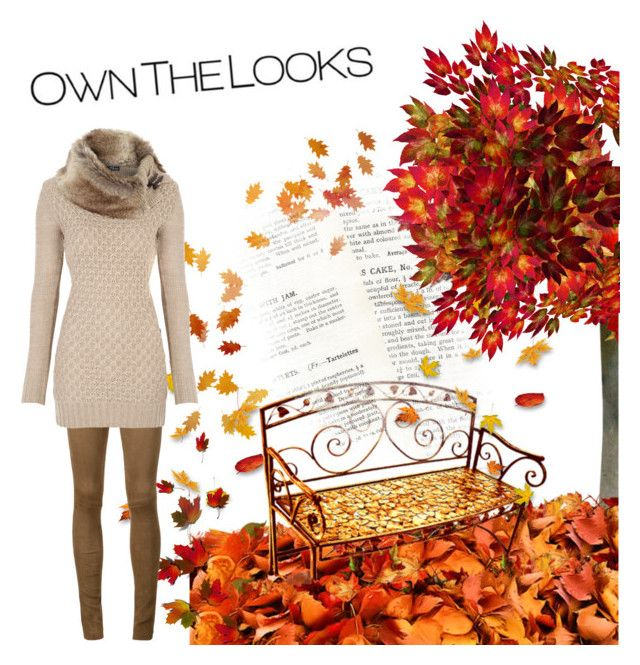 """Own the fall looks"" by dory-speaks-whale ❤ liked on Polyvore featuring Beau Souci"