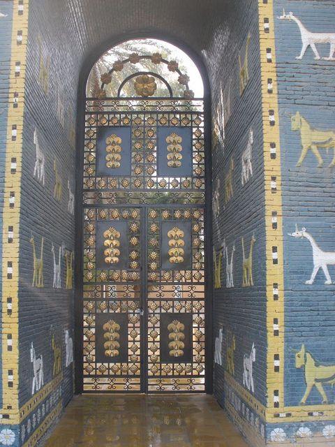 babylon iraq auf pinterest sieben wunder der welt altertumsgeschichte und h ngende g rten. Black Bedroom Furniture Sets. Home Design Ideas