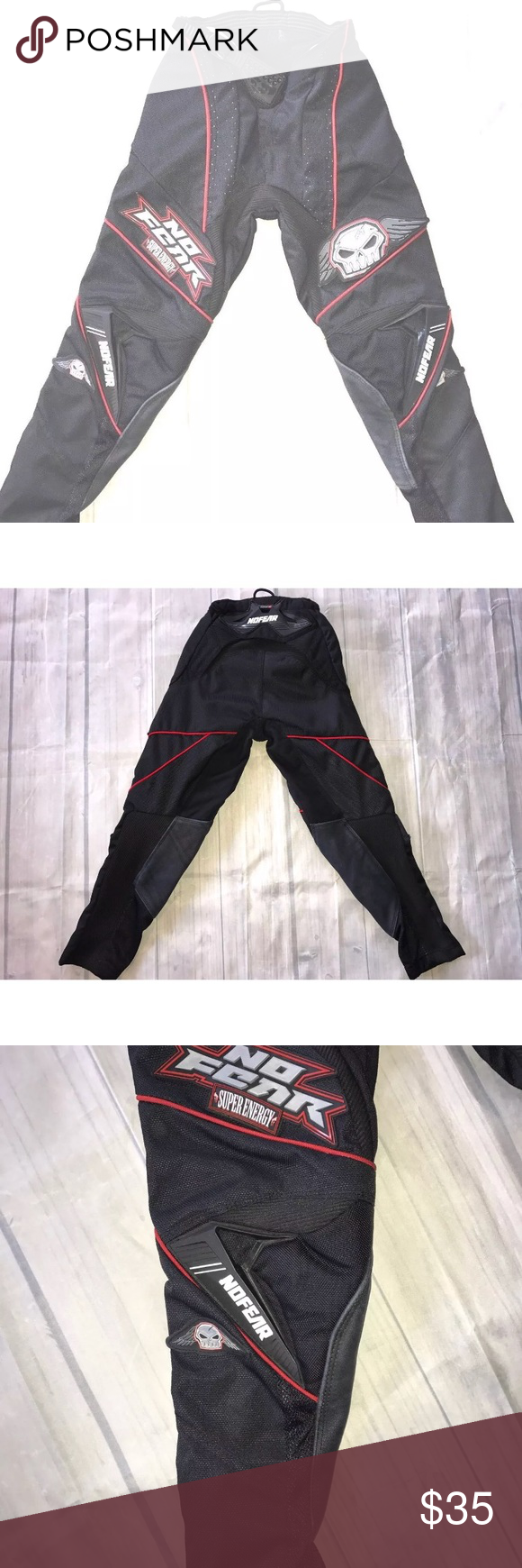 No Fear Rogue Boys Motorcross Padded Pants Sz 22 No Fear Rogue Series Boys Motorcycle Padded Pants Size 22 Black No Tears Stains Or R Pants Fashion Shopping