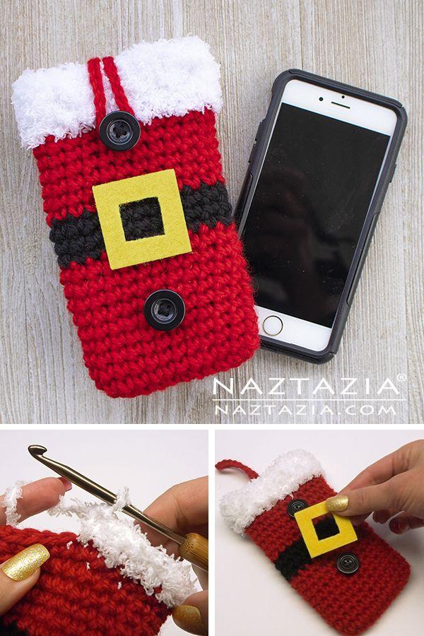 Santa Cell Phone Case – Naztazia ®