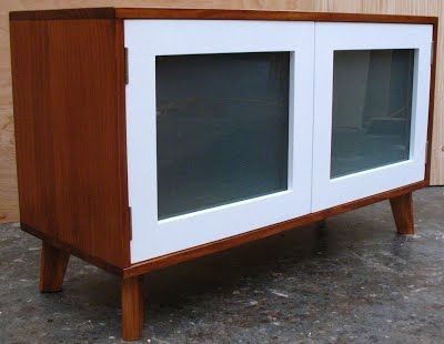 Retro Modern Tv Unit - Greenville Furniture : Nz Wooden Furniture