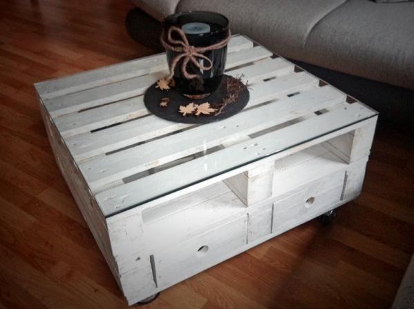 Stuhl-Tisch | Couchtisch aus paletten, zweite Chancen und Couchtische
