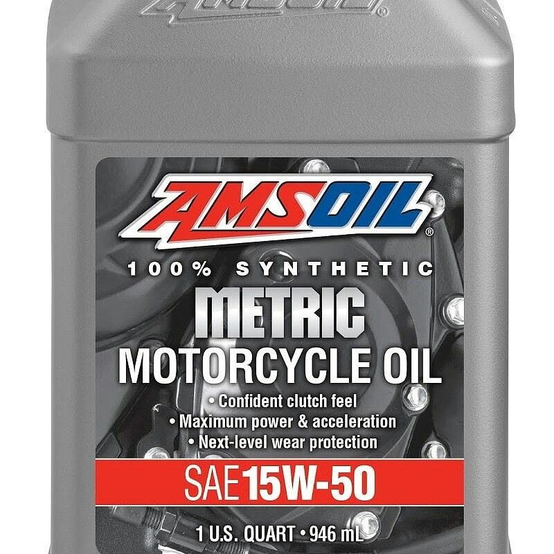 New Amsoil 15w 50 Synthetic Metric Motorcycle Oil Mff Is