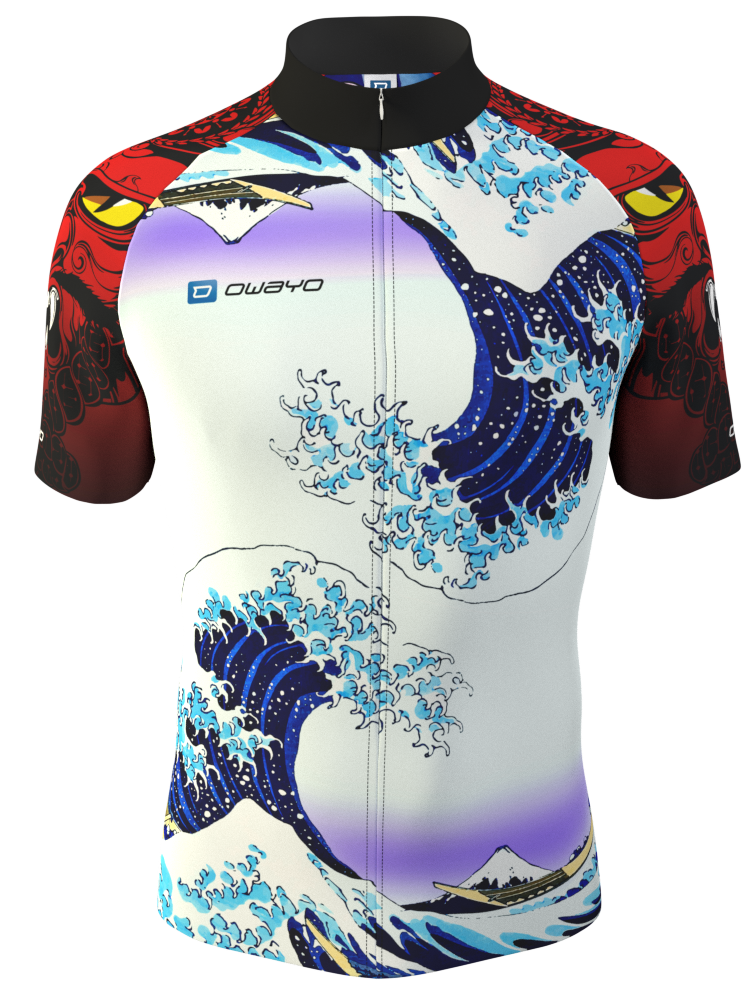 Special Bike Jersey Design In Comic Art Made In The Online 3d Configurator At Owayo Com Bike Jersey Design Jersey Design Cycling Outfit