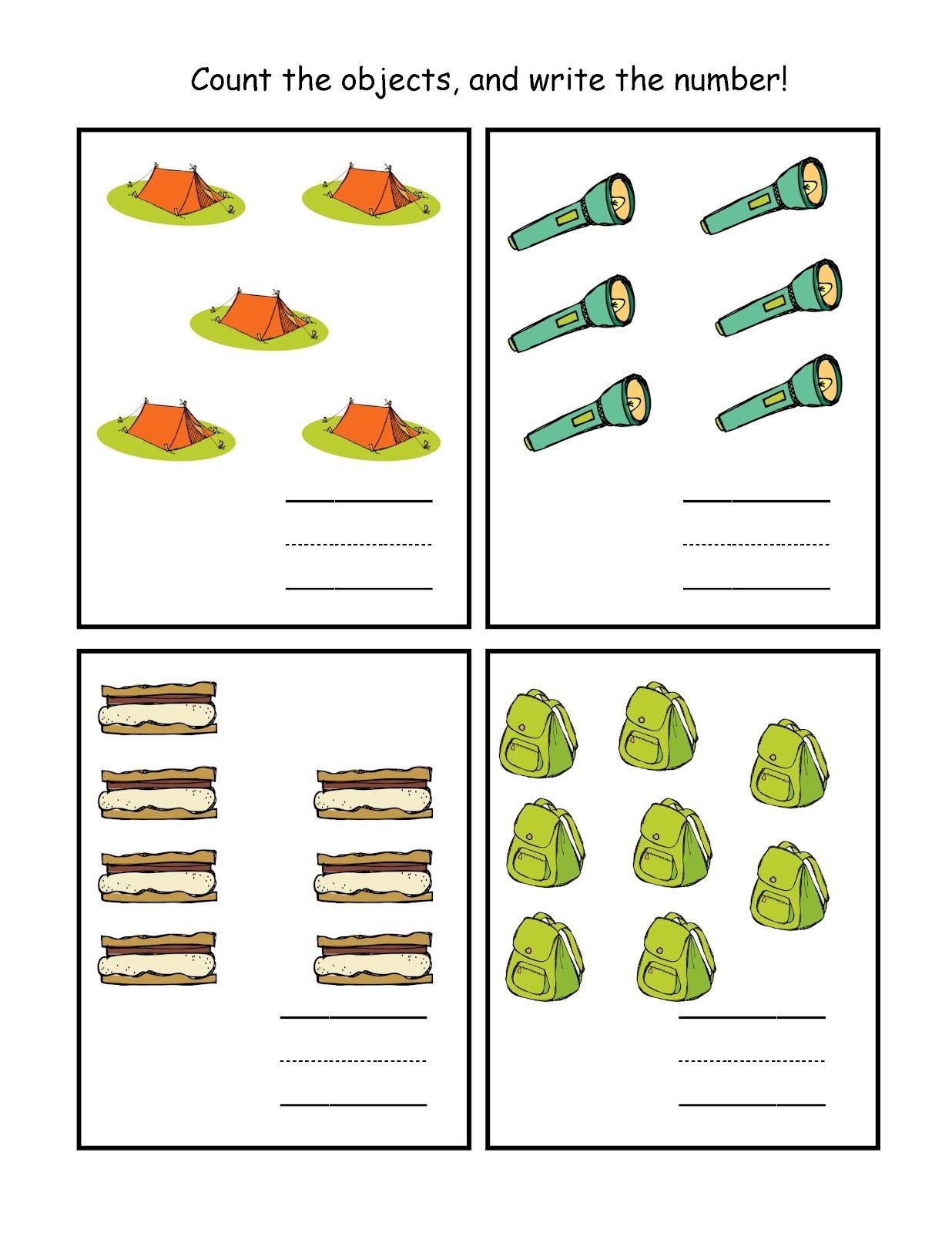 Summer Camping Printable Ideeen Voor De Klas Lesideeen Thema