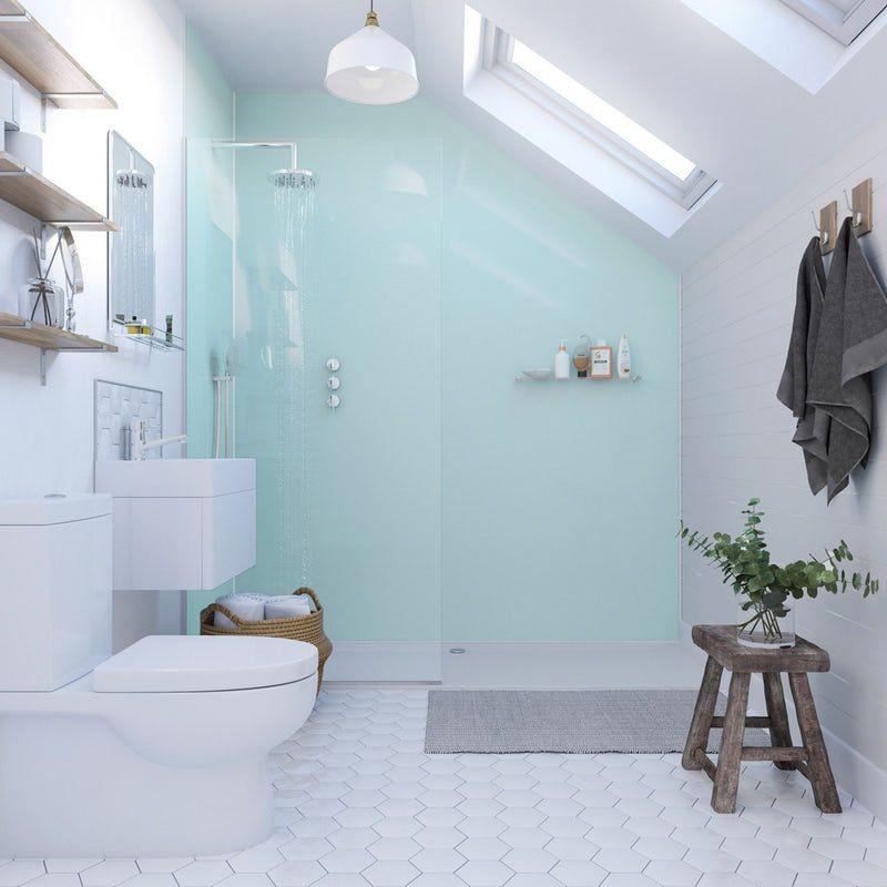 Showerwall Acrylic Opal Shower Wall Panel Shower Wall Panels Acrylic Shower Walls Bathroom Remodel Cost