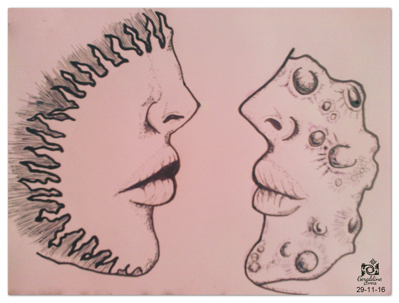 By Geraldine Cortez Dibujo De Sol Y Y Luna Solyluna Sol Luna