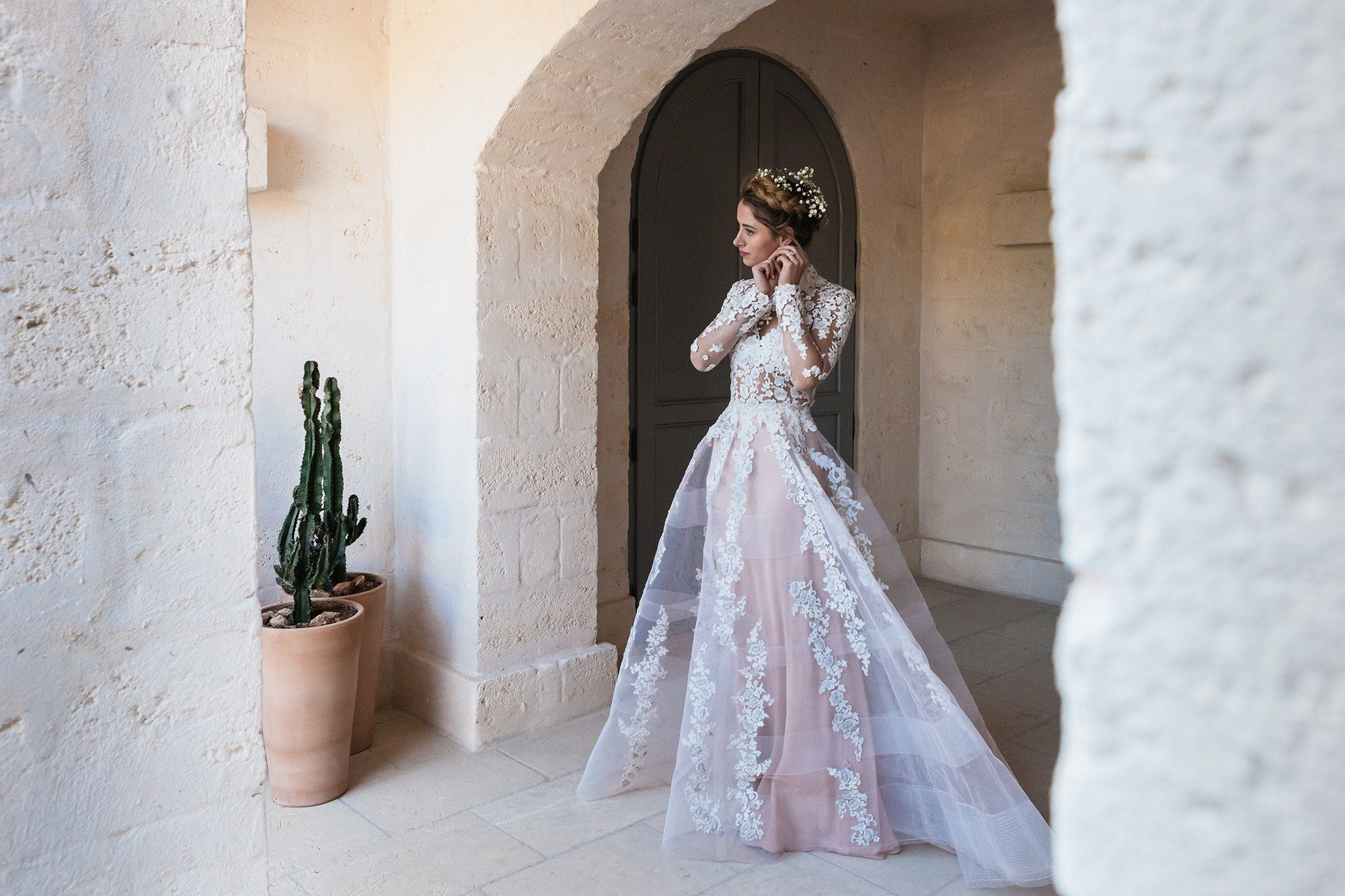 See This Vogue Brides Completely Sheer Wedding Gown