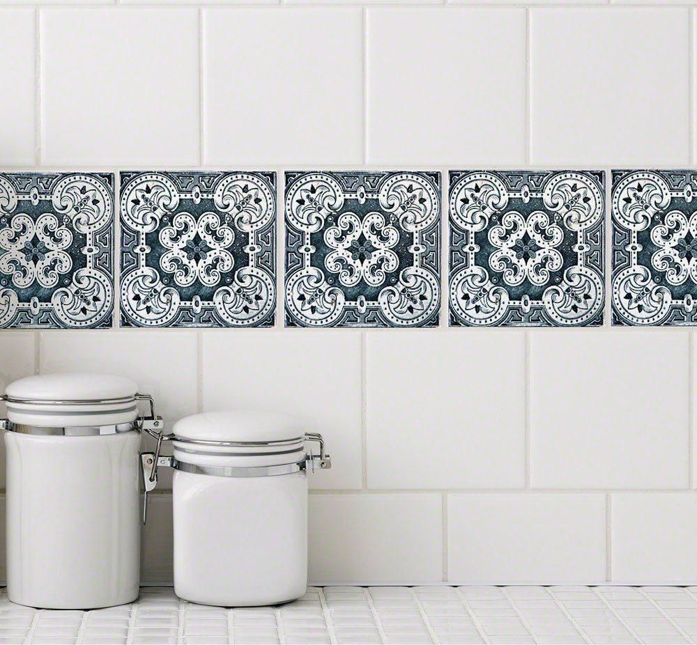 Chelsea Tile Decals | Chelsea, Tile decals and Bath