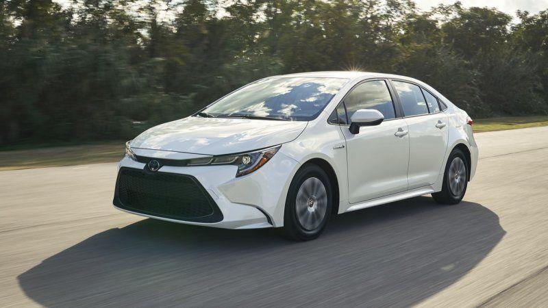 2020 Toyota Corolla Hybrid At Debuts L A Auto Show Toyota