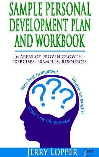 Sample Personal Development Plan and Workbook A Workbook Guide to - personal development portfolio example