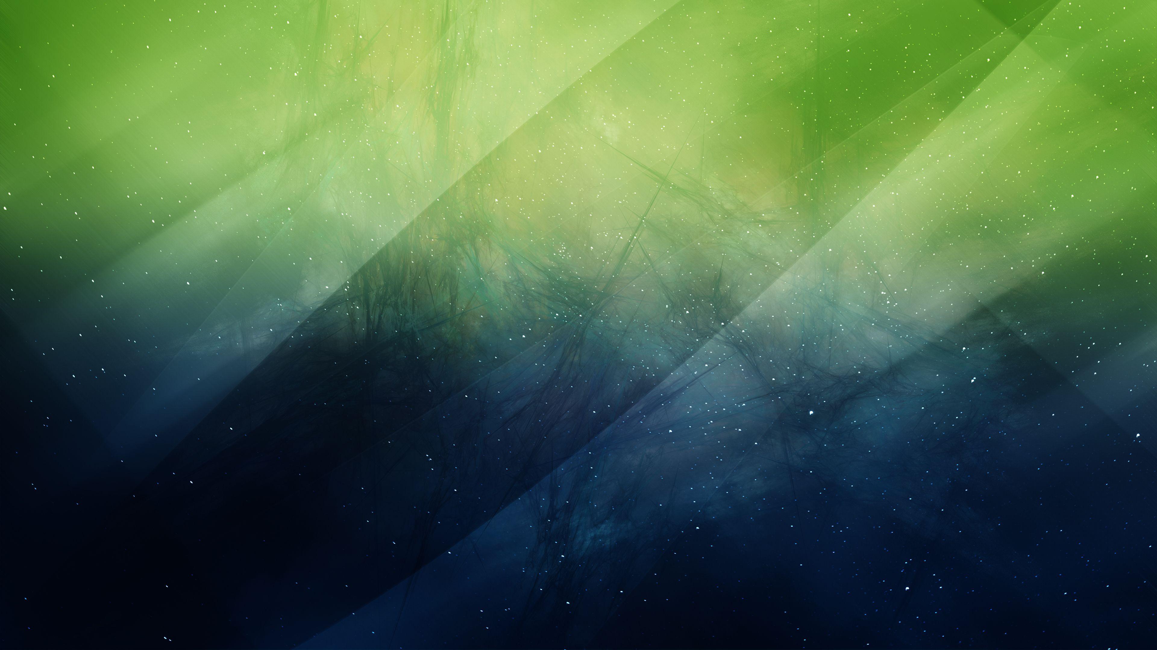 Green Sky Nature Abstract Green Sky Abstract Widescreen Wallpaper
